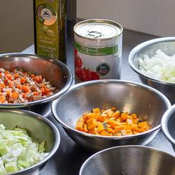 野菜スープの材料